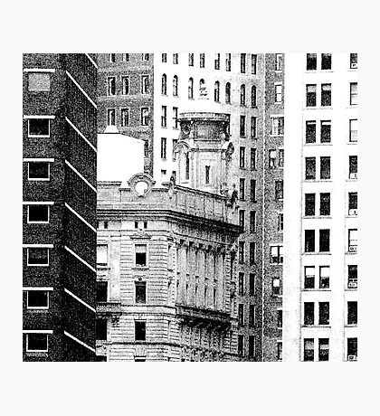NEW YORK HIGHRISE Photographic Print