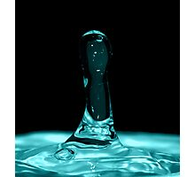 Straight Droplet Photographic Print