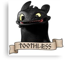 Toothless Smile Canvas Print