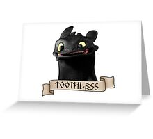 Toothless Smile Greeting Card