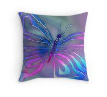 Mystic Moth Throw Pillow