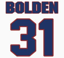 National football player Omar Bolden jersey 31 by imsport