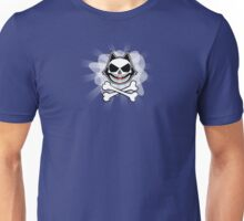 Phelix the Skull (So Much Fun) - Crossbones Version Unisex T-Shirt
