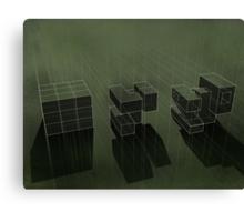 Cubic Progression Canvas Print