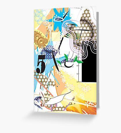 Me, Myself... & Adobe Illustrator  Greeting Card