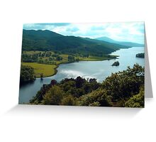 Queen's View Greeting Card