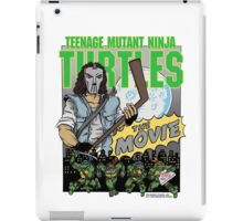 Ninja Turtles Retro First Movie 1990 Casey Jones iPad Case/Skin