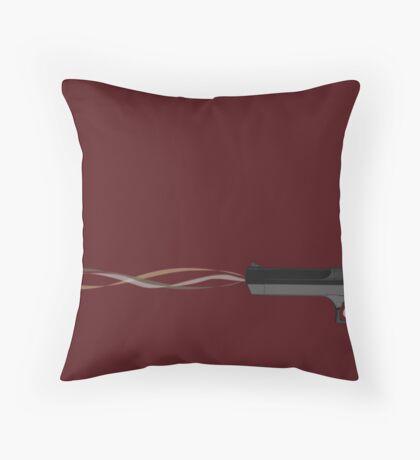 Beautiful Gun Throw Pillow