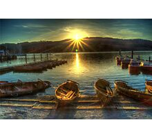 Windermere Sunset Photographic Print