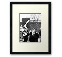 Baton Framed Print