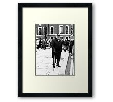 Meaningful Support Framed Print