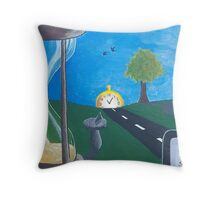 Time and Time Again. Throw Pillow