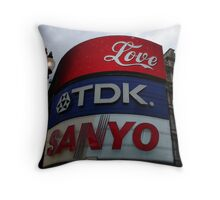Picadilly Circus - London Throw Pillow