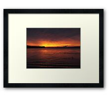 stolen moments Framed Print