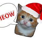 christmas cat by Jordan Williams
