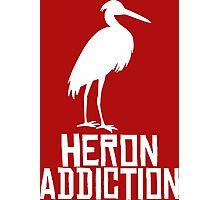 Heron Addiction Photographic Print