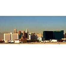 Leaving Las Vegas Photographic Print