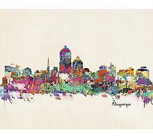 Albuquerque New Mexico skyline Photographic Print