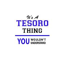It's a TESORO thing, you wouldn't understand !! by allnames