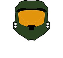 Master chief minimalist Photographic Print