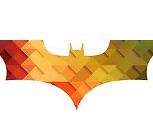 BAT MAN Retro -  Superhero / Comic by T M B