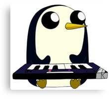 Gunter Keyboard Canvas Print