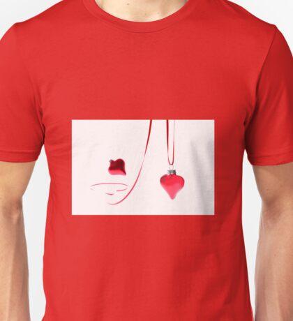 Ribbon of Hearts Unisex T-Shirt
