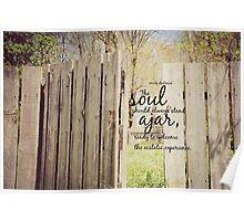 Soul Ajar Emily Dickinson Poster