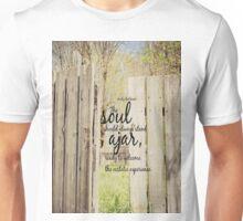 Soul Ajar Emily Dickinson Unisex T-Shirt