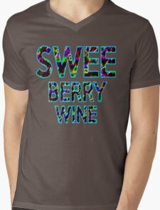 SWEE BERRY WINE Dr. Steve Brule Design by SmashBam Mens V-Neck T-Shirt