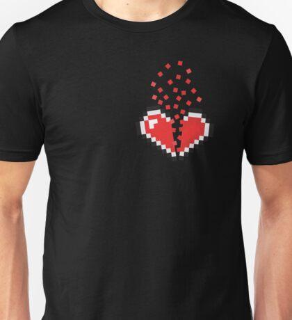 8 Bit Heart Break Unisex T-Shirt