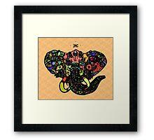 DC Elephant BLK Super Maryland Vers.1 Framed Print