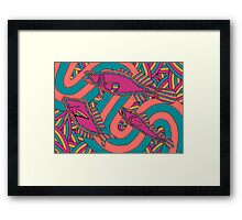 Aarli - (school of fish) jalalay season (spring) Framed Print