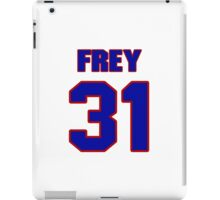National football player Isaiah Frey jersey 31 iPad Case/Skin