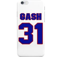 National football player Thane Gash jersey 31 iPhone Case/Skin