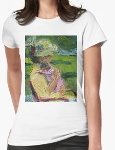 Channeling Cassatt Womens Fitted T-Shirt