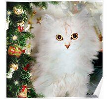 Mistletoe at Christmas Poster