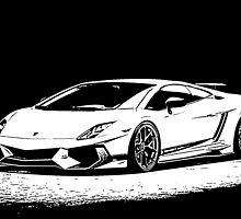 17 Lamborghini Renazzo By Chris McCabe - DRAGAN GRAFIX by Christopher McCabe