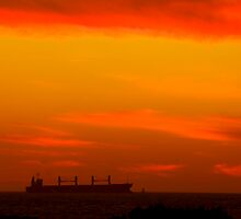 sailing into the sunset by Gnangarra