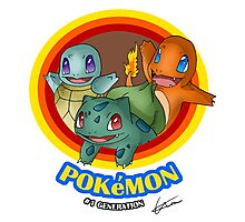 Pokemon #1 generation Photographic Print
