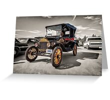 1916 Ford Model T Greeting Card