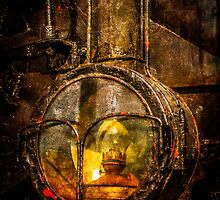 Old Train Headlight by luckypixel