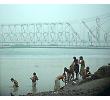 calcutta bridge Photographic Print