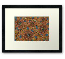 Joorr - (snake) irralb season (autumn) Framed Print