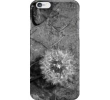 Abstract Dandelion iPhone Case/Skin