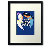 A Whole New World Framed Print