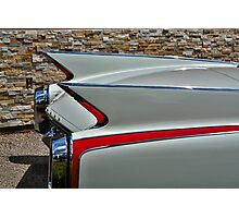 Cadillac Fins Photographic Print