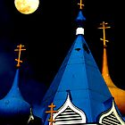 Moon Over Orthodox by Perspective