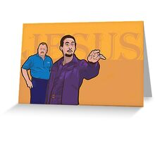 Jesus Quintana and Liam Greeting Card