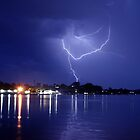 Lightning over Brisbane Waters by Chris Wheat